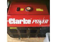 CLarke Power Generstor - Bargain.