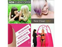 Have you Hair,nails or spray tanning