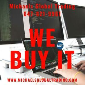 We Buy Your Computer & Networking Equipment • Michaels Global Trading