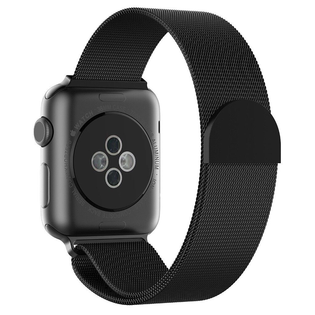 NEW: Apple Watch Band, Beikel 38mm Magnetic Closure Clasp Mesh Loop Stainless Steel Bracelet Strap