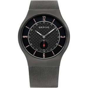 BERING Time 11940-377 Mens Classic Collection Watch with Mesh Band and scratch