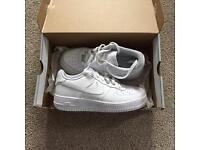 Nike air 1 trainers (Worn once) size 5.5