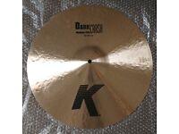 Brand New Zildjian K Dark Medium Thin Crash (18in)