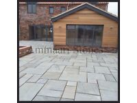 Kandla Grey Sandstone Paving Slabs | 18-22mm | 14.72m² Patio Pack £300 *FREE NATIONWIDE DELIVERY*