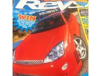 Top Gear and Revs magazines