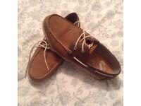 Men's deck shoes size 9