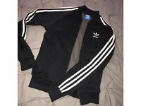 Adidas black jumper
