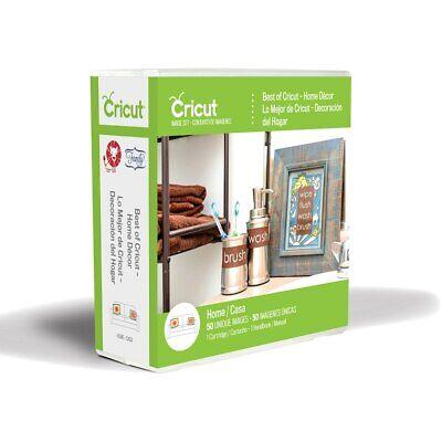 *New* Cricut BEST OF CRICUT - HOME DECOR Cartridge Factory Sealed Free