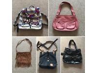 Bundle of handbags