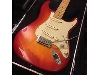 Fender Deluxe Ash Stratocaster 2011 With Hard case
