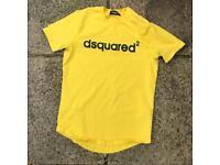 Dsquared yellow t shirt