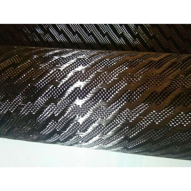 3K 240g Real carbon fiber cloth fabric Lightning pattern 1m width 39in x 6yard