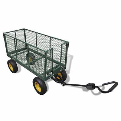 Heavy Duty Garden Utility 4 Wheel Cart/ Trolley/ Trailer/ Truck 350 KGS Load