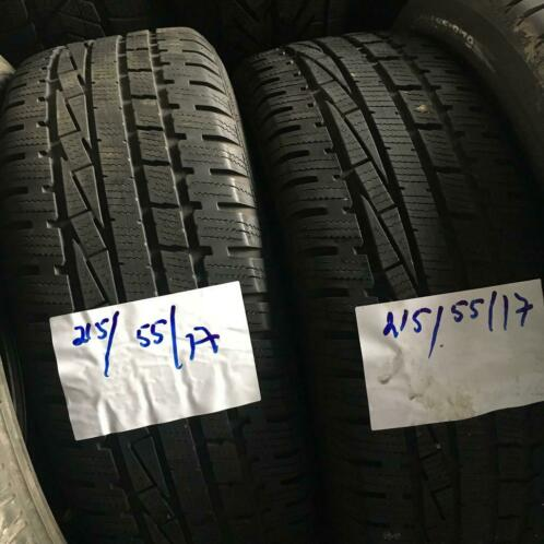 2x Goodyear UltraGrip 215-55-17 Winterbanden 5mm