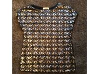 Oasis sparkly top size xs worn once