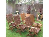 Westminster Teak Garden Chairs £30 each