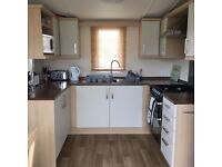 Swift Moselle (2010 model), luxury 3 bedroom static caravan sited at Haven Blue Dolphin near Filey
