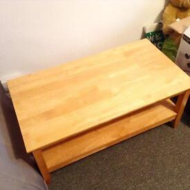 Maple coffee table.