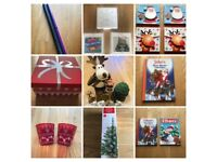 HUGE LOT Christmas Tree; Cards; Paper; Decorations; Books & FREE extra