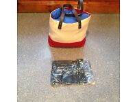 BRAND NEW AND VACUUM SEALED very strong beach/shopping bag etc. BARGAIN PRICE THANKS.