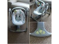 Excellent condition Kids II brand Automatic Baby Swing, almost unused