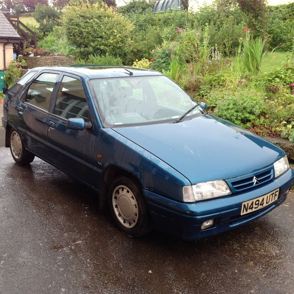 N- reg. Citroen ZX 1,4 l, 5 door hatchback. Genuine 60,000 miles ...