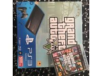 PS3 WITH GTA5 - BOXED!