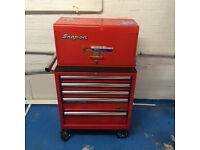 Snap-on Topbox , Clarke HD plus Tool cabinet