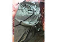 Foam mattress in a bag