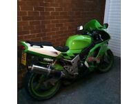 Kawasaki ZX 600 Motorbike 5 months MOT