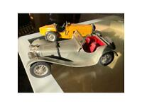 Reposted due to time wasters Vintage pair of antique model cars