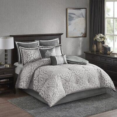 Madison Park Odette 8 Piece Jacquard Comforter Set