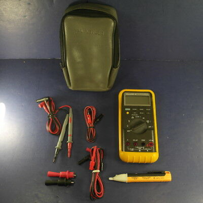 Fluke 87 Trms Multimeter Very Good Screen Protector Case Accessories