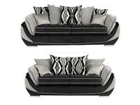 EXPRESS FREE DELIVERY BRAND NEW TONI 3+2 SEATER AOFAS