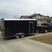 2015 CARGO TRAILER 8.5 FT BY 18 FT