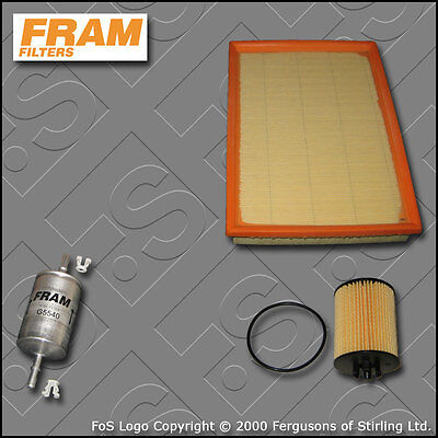 SERVICE KIT for VAUXHALL TIGRA 1.4 16V ->19MA9234 OIL AIR FUEL FILTERS 2004-2009