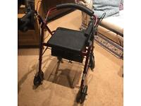 'Drive' Mobility scooter / walker with seat.