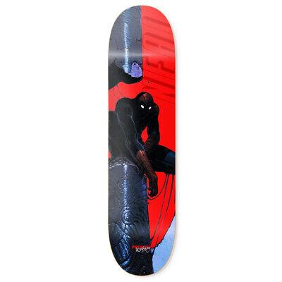 "Primitive Skateboard Deck Moebius Marvel Neal Spiderman 8.0"""