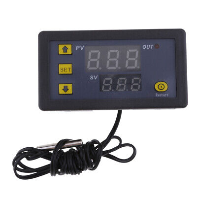 Digital Thermometer Thermostat Waterproof Sensor Temperature Controller 24v