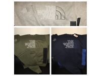 Men's The North Face Tracksuit - Hoodless - 3 colours - S-XL - Sweatshirt / Jumper and Bottoms