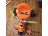 Baby to toddler trike