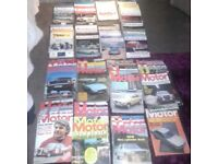 70 Mags of Autocar 1961,62 + Motor 1974,75,76 total 70 magazines