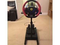 Ferrari 458 Spider Racing Wheel & Stand for XBox One