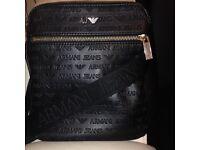 Armani Jeans Logo Print Bag