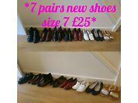 ** Bargain bundle new shoes size 7**