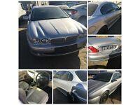 Jaguar X-Type Sport D 2006 Silver 2.0 Diesel front bumper all parts available