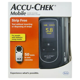 Accu-Chek Mobile Glucose Monitoring System/Monitor/Meter + 50 Tests - RRP £69.99