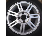 fiesta alloys and wheels