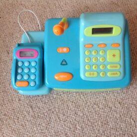 ELC Cash Register and Toy Money