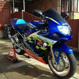 Gsxr600 k2 telefonica movistar sell or swap for a rsv millie